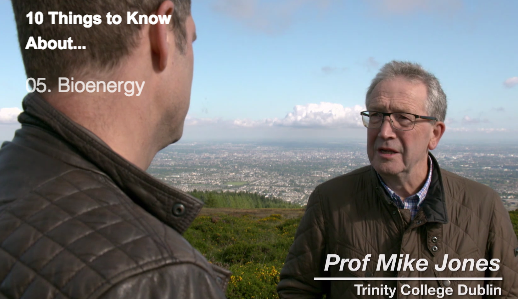 Prof. Mike Jones of IENETS on RTÉ 10 things to know about bioenergy